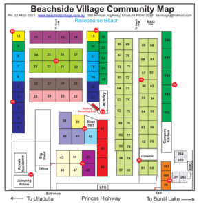 Beachside Village Community Map